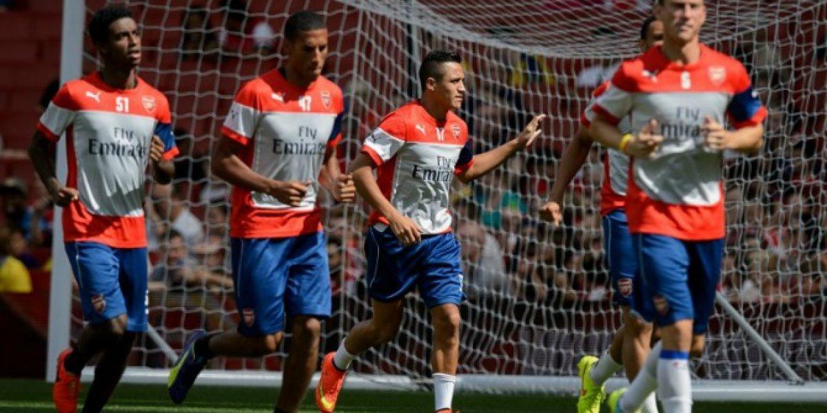 La jugada entre Alexis y Sanogo que dejó locos a los hinchas en su día