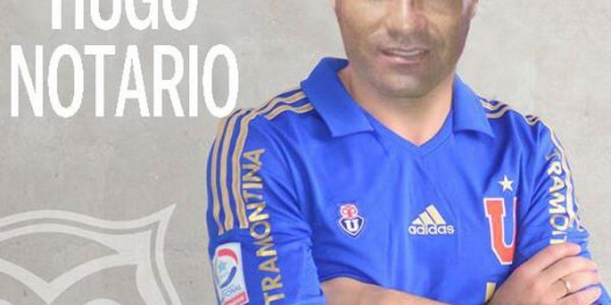 ¿Qué fue del ex jugador de Universidad de Chile Hugo César Notario?