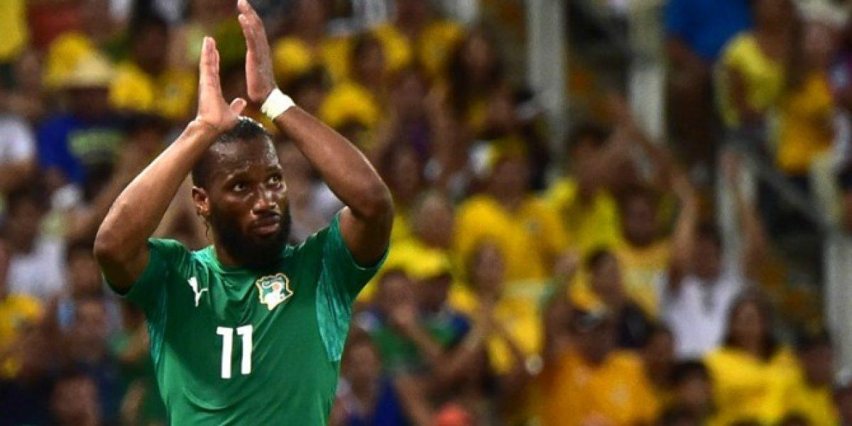 Valdivia hizo escuela: Didier Drogba renunció a la selección vía Twitter