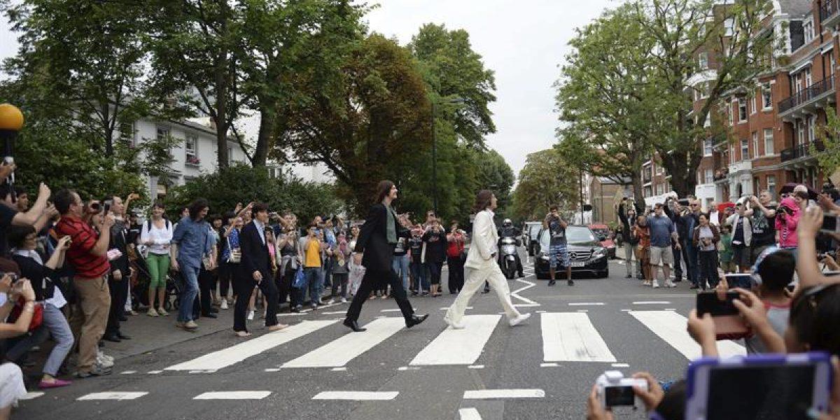 Londres celebra el 45 aniversario de la mítica foto de The Beatles en Abbey Road