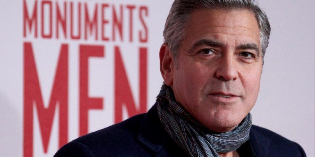 George Clooney ultima los detalles de su boda con Amal Alamuddin