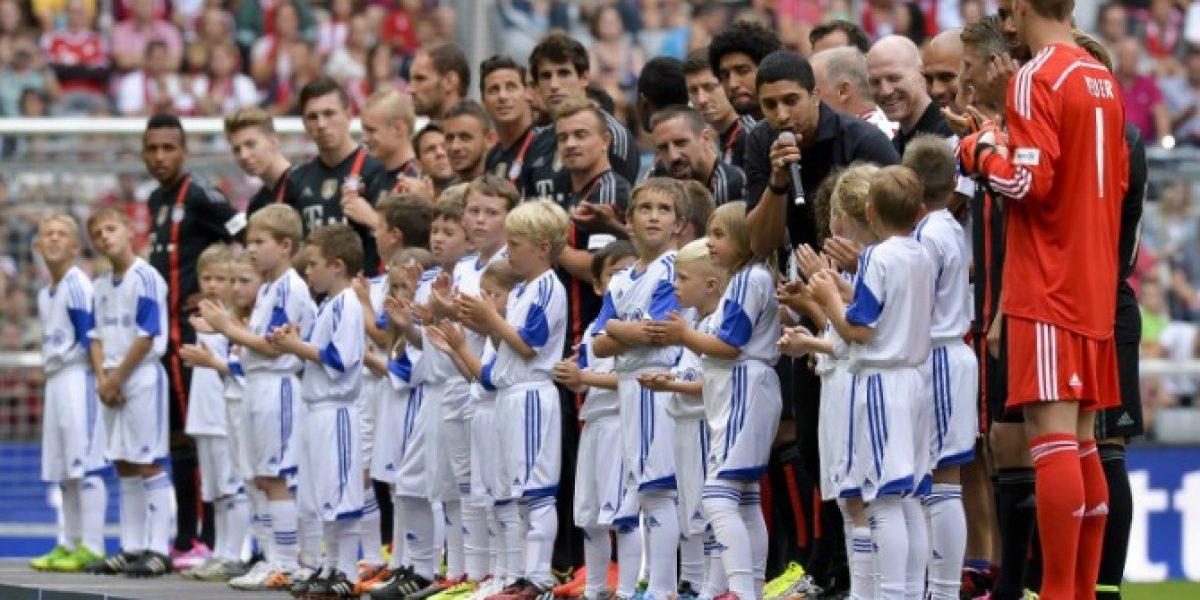 Bayern Munich presentó a su nuevo plantel tras tomarse la fotografía oficial