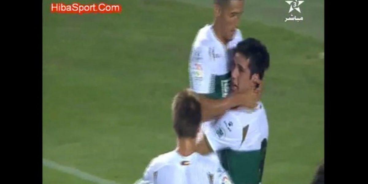Video: Enzo Roco anotó un gol en su debut por el Elche