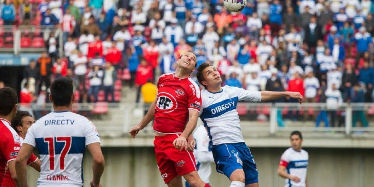 La UC sumó otra decepción tras caer como visitante ante Ñublense