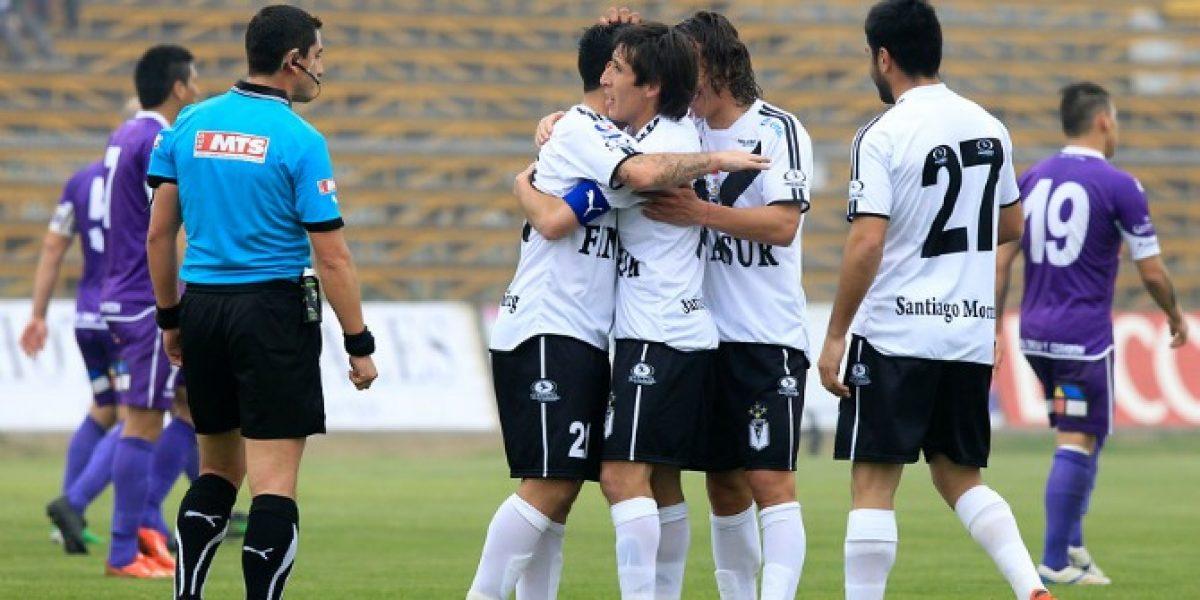 Santiago Morning se abrazó por primera vez en la B tras golear a Deportes Concepción