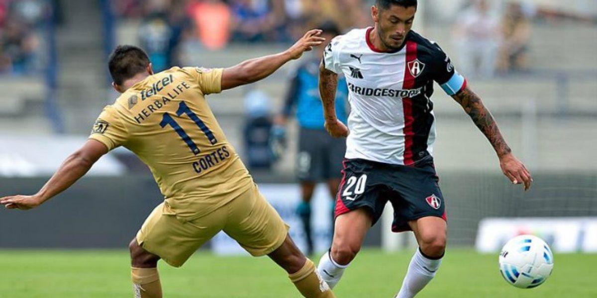 Atlas venció a Pumas de UNAM con Rodrigo Millar como capitán del equipo