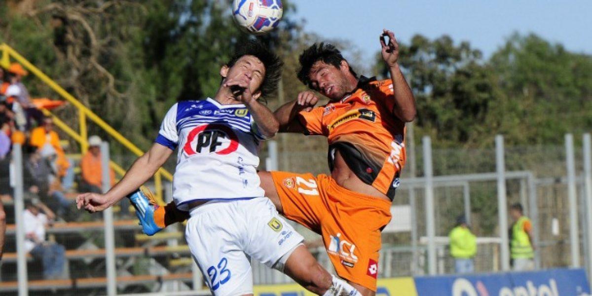 Cobreloa cae ante la U. de Concepción y sus hinchas pierden paciencia con Trobbiani