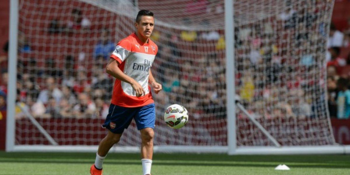 Alexis tendrá su debut oficial en Arsenal por la Community Shield