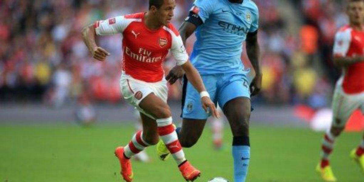En Directo: Arsenal de Alexis golea al Manchester City de Pellegrini en Wembley