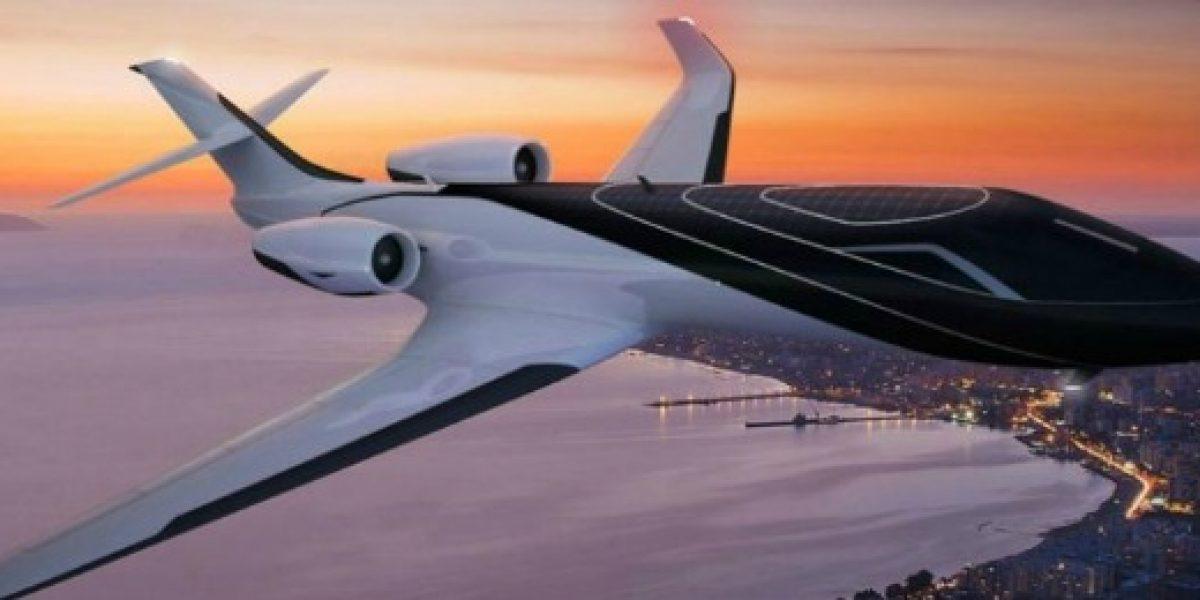 Este jet promete tener una vista única