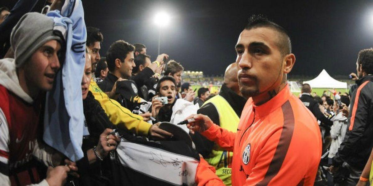 El gesto de Arturo Vidal que puso en duda su continuidad en Juventus