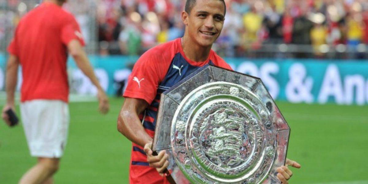 Aprobó: Diario inglés le puso nota a la pretemporada de Alexis con Arsenal
