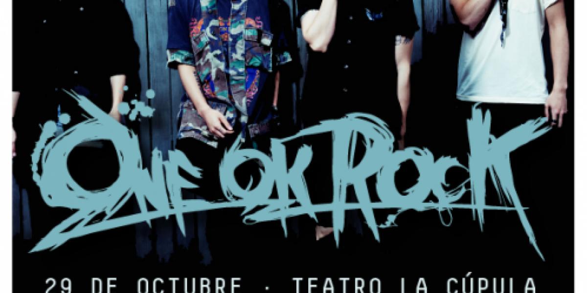 One OK Rock llegan por primera vez a Chile
