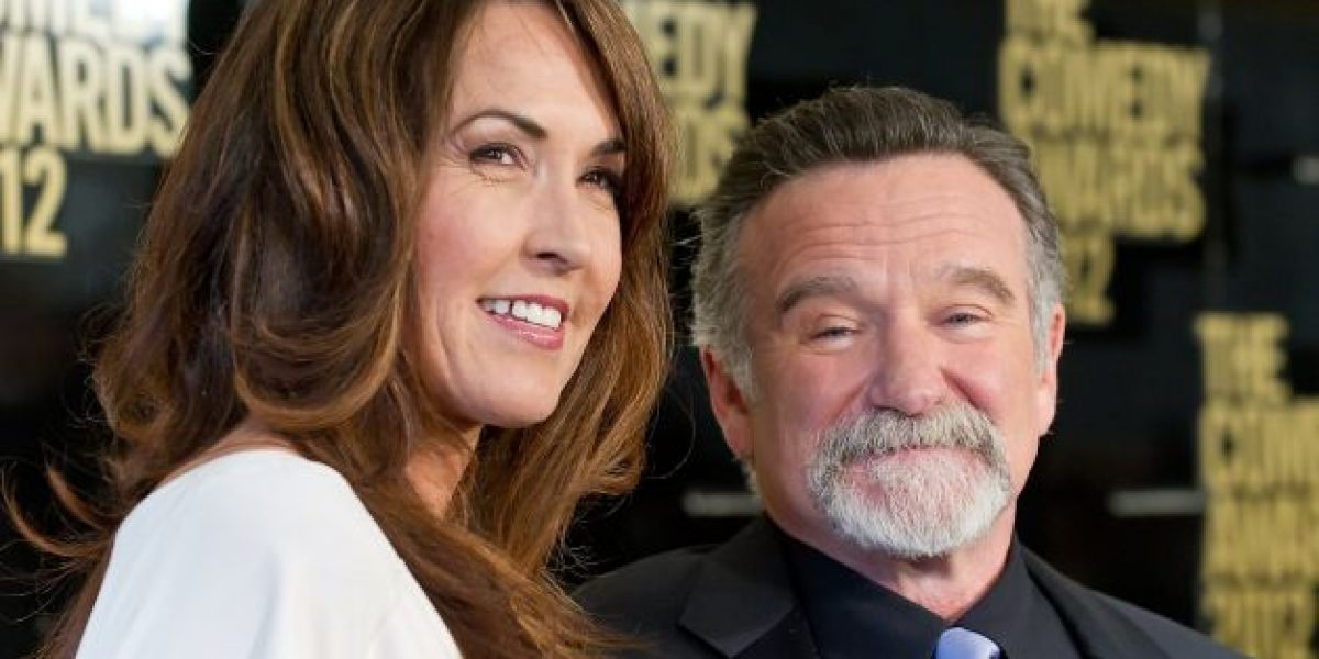 Esposa de Robin Williams: