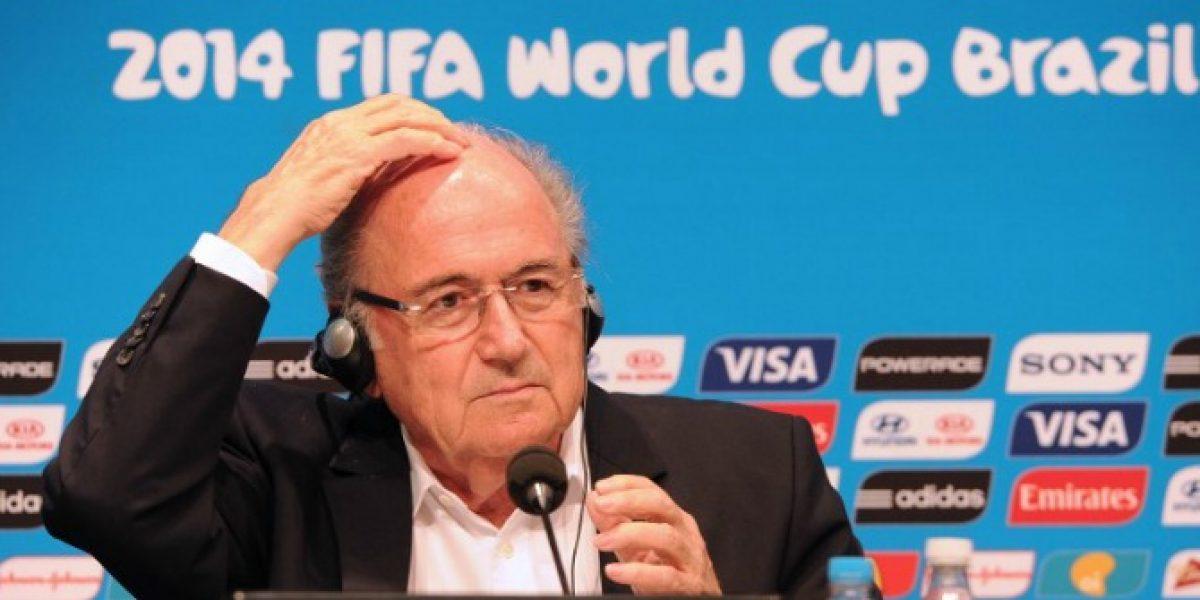 Blatter recuerda al actor Robin Williams tras su fallecimiento