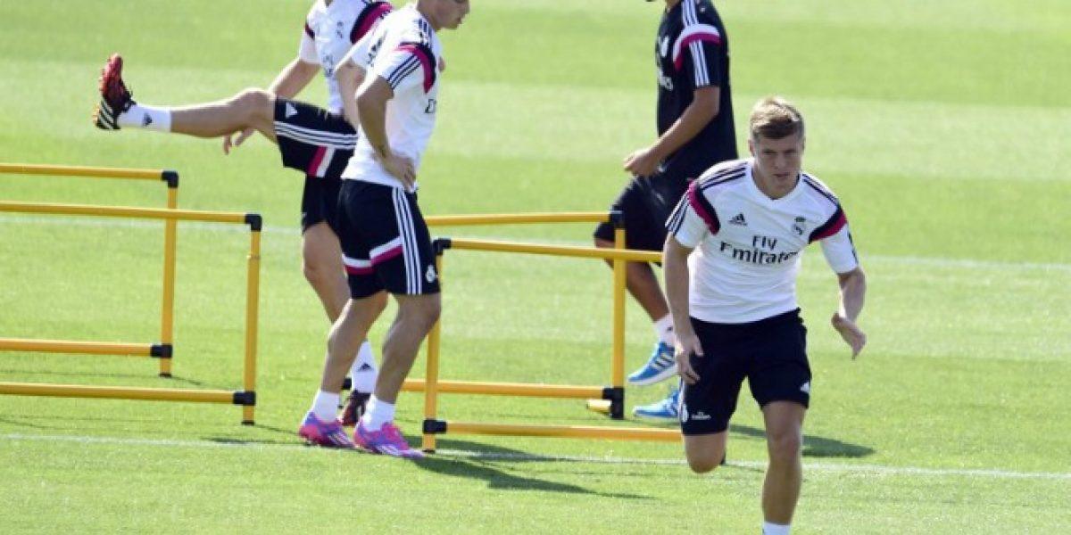Toni Kroos y James Rodríguez harán su debut como titulares en Supercopa de Europa
