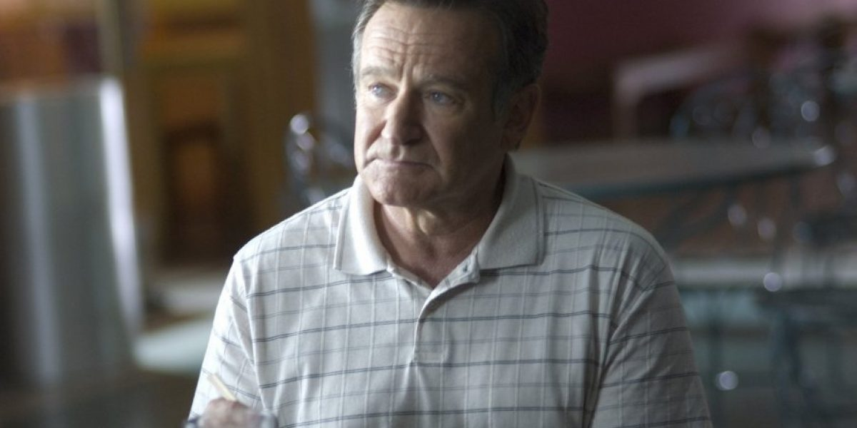 La película donde Robin Williams debe sobrellevar el suicidio de su hijo