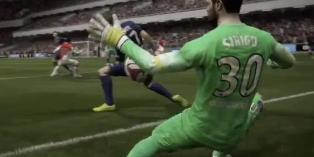 Video: EA Sports revela las novedades del FIFA 15 con inteligencia artificial