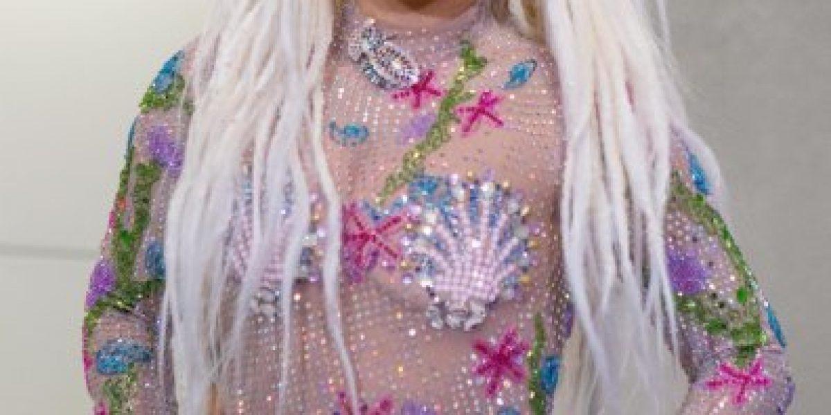 Lady Gaga sorprendió con este atrevido modelito que dejó poco a la imaginación