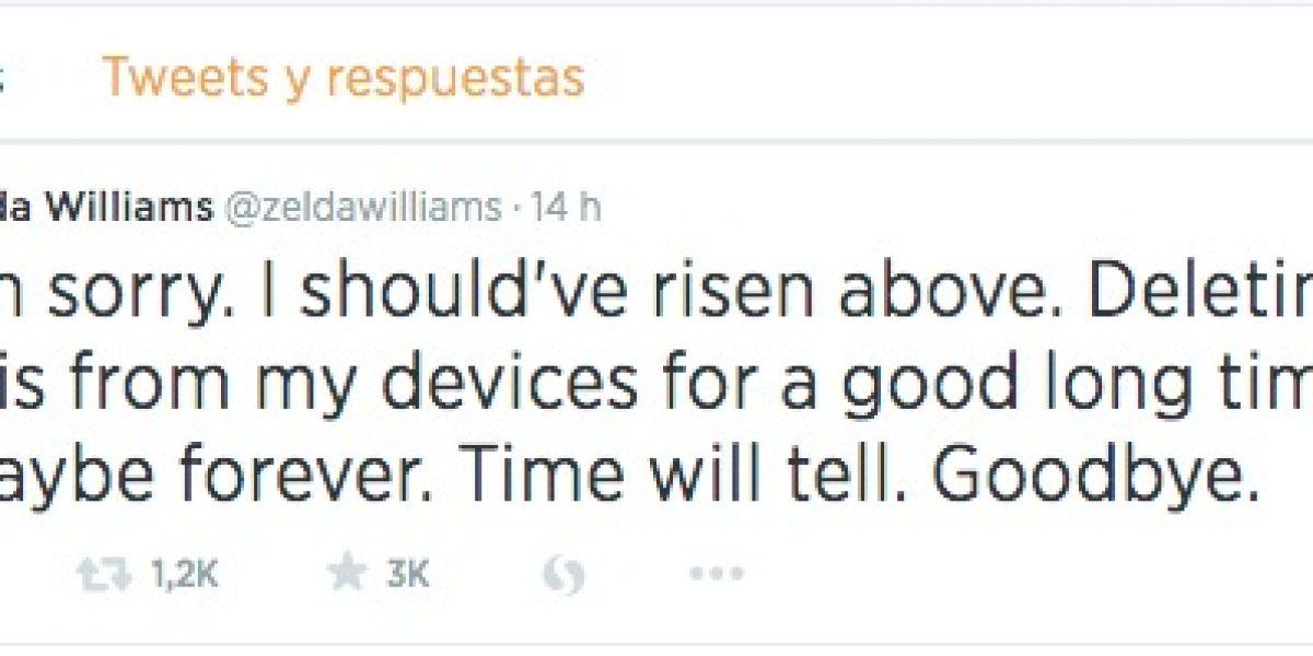 Hija de Robin Williams deja Twitter por culpa de los