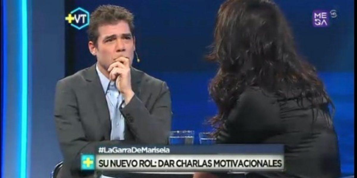 Álvaro Escobar colapsó con el dolor de Marisela Santibáñez