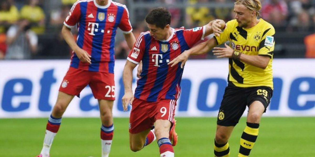 Borussia Dortmund derrotó al Bayern Munich y se queda con la Supercopa alemana