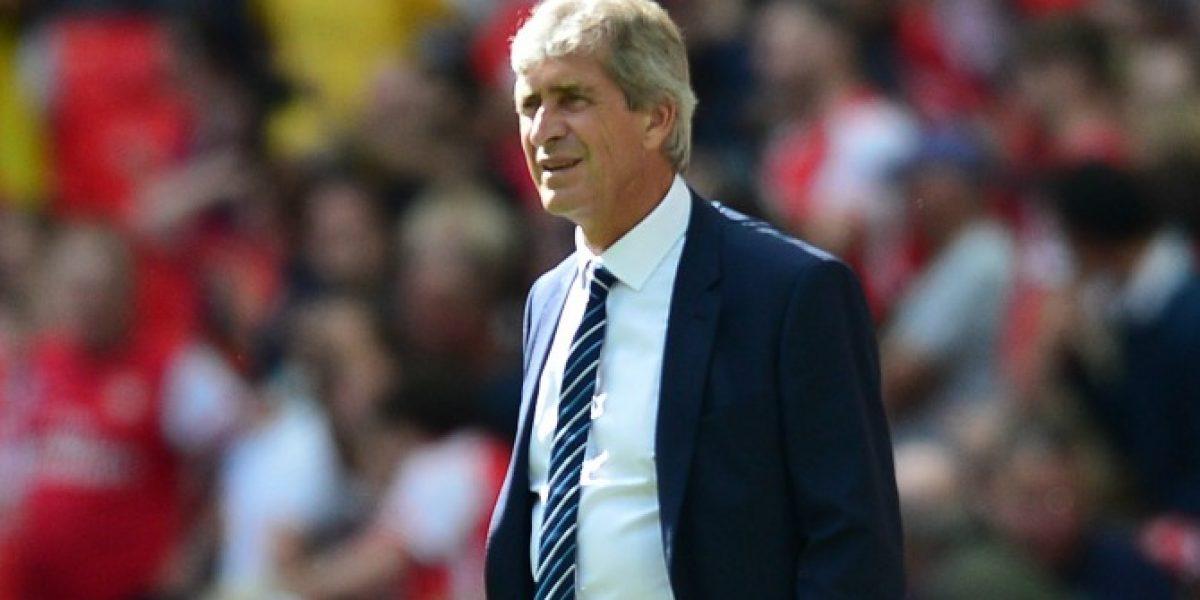 Pellegrini defiende la falta de jugadores ingleses en el once del City