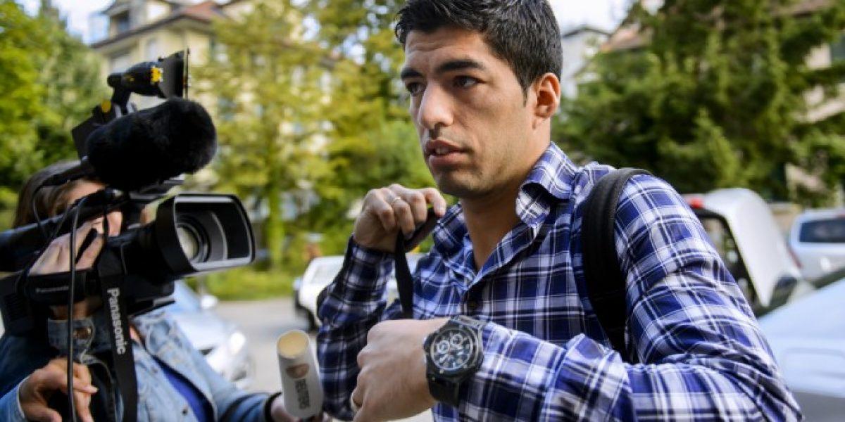 ¡No se salvó! El TAS mantiene la sanción a Luis Suárez