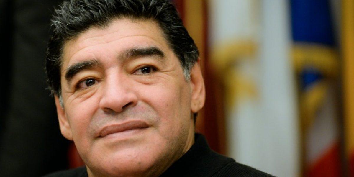 ¡Fue solo un susto! Hija de Maradona aclaró hospitalización de su padre
