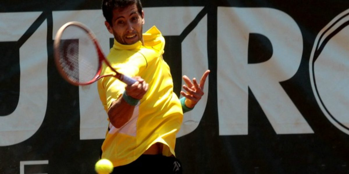 Hans Podlipnik avanzó a cuartos de final en Challenger de Meerbusch