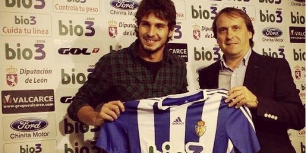 Lucas Domínguez fue presentado en España y será compañero de Francisco Prieto