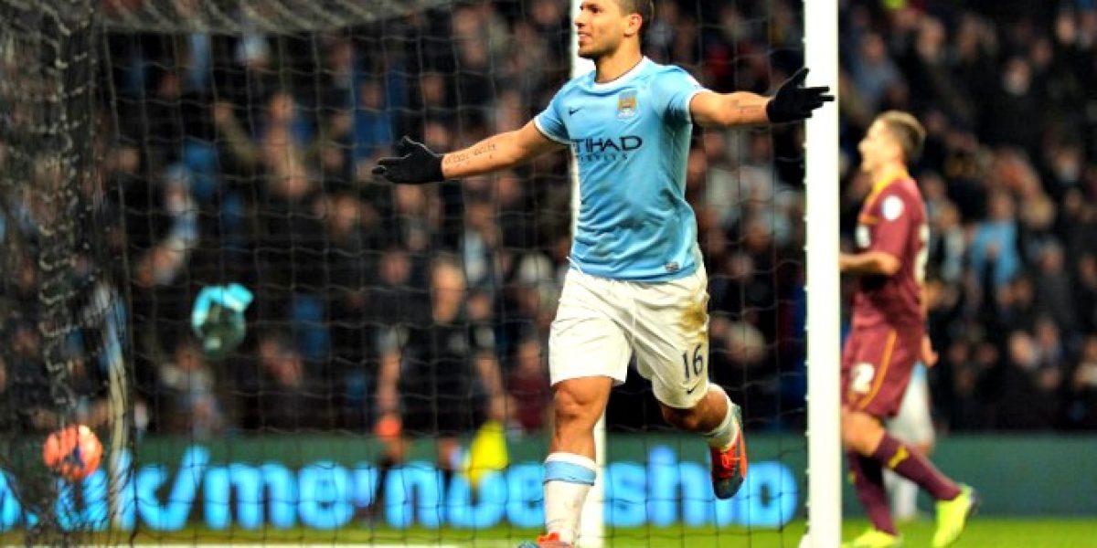 Buenas noticias para Pellegrini: Agüero renovó en Manchester City