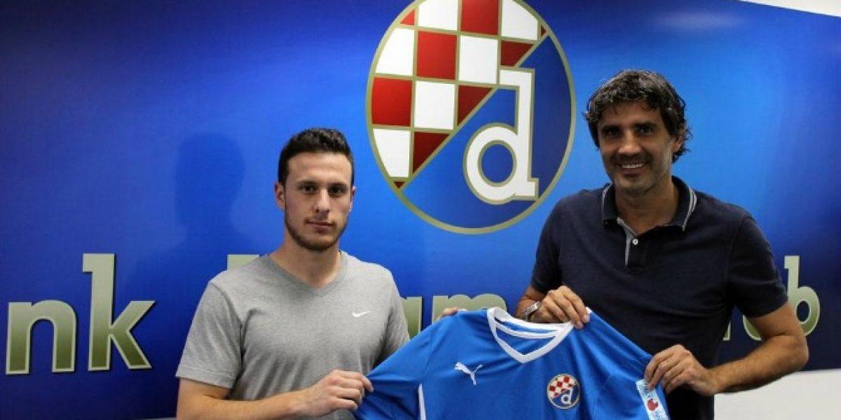 Ángelo Henríquez debutó en la liga croata con triunfo del Dínamo Zagreb