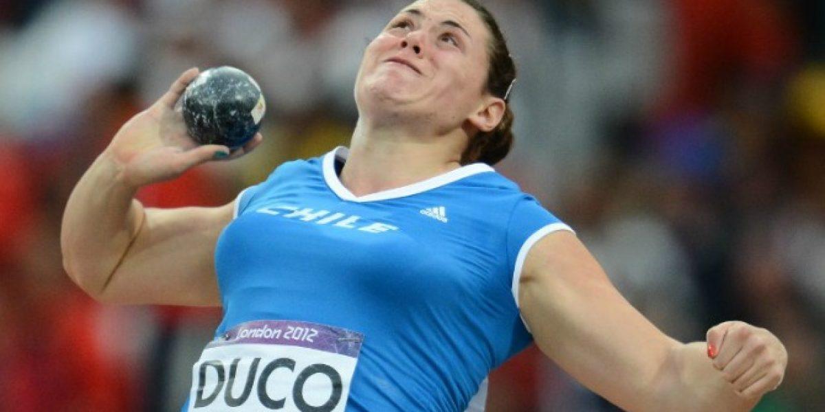 Natalia Ducó obtuvo medalla de plata en lanzamiento de la bala en Festival Panamericano