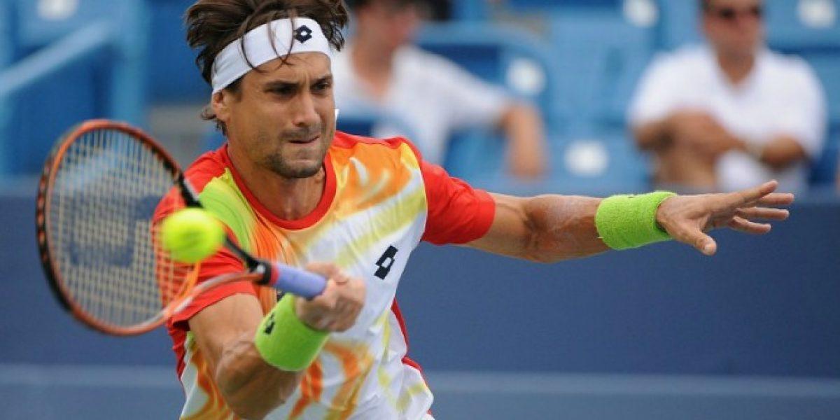 Español David Ferrer se instala en la final del Masters de Cincinnati