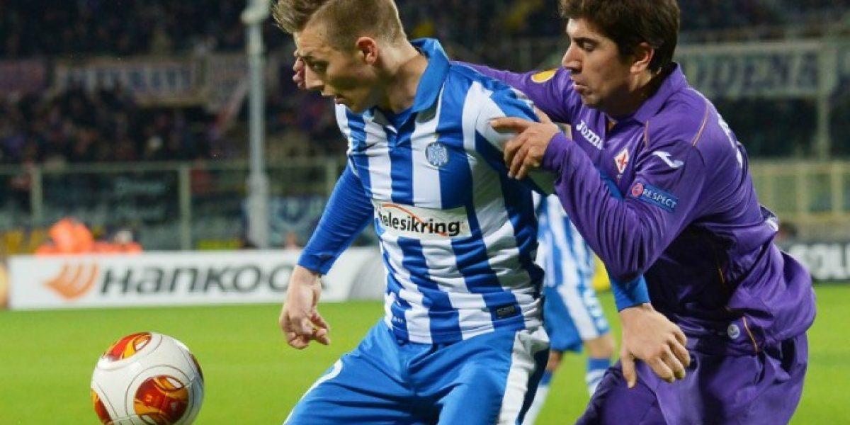 David Pizarro tuvo buena actuación en victoria de la Fiorentina sobre el Real Madrid