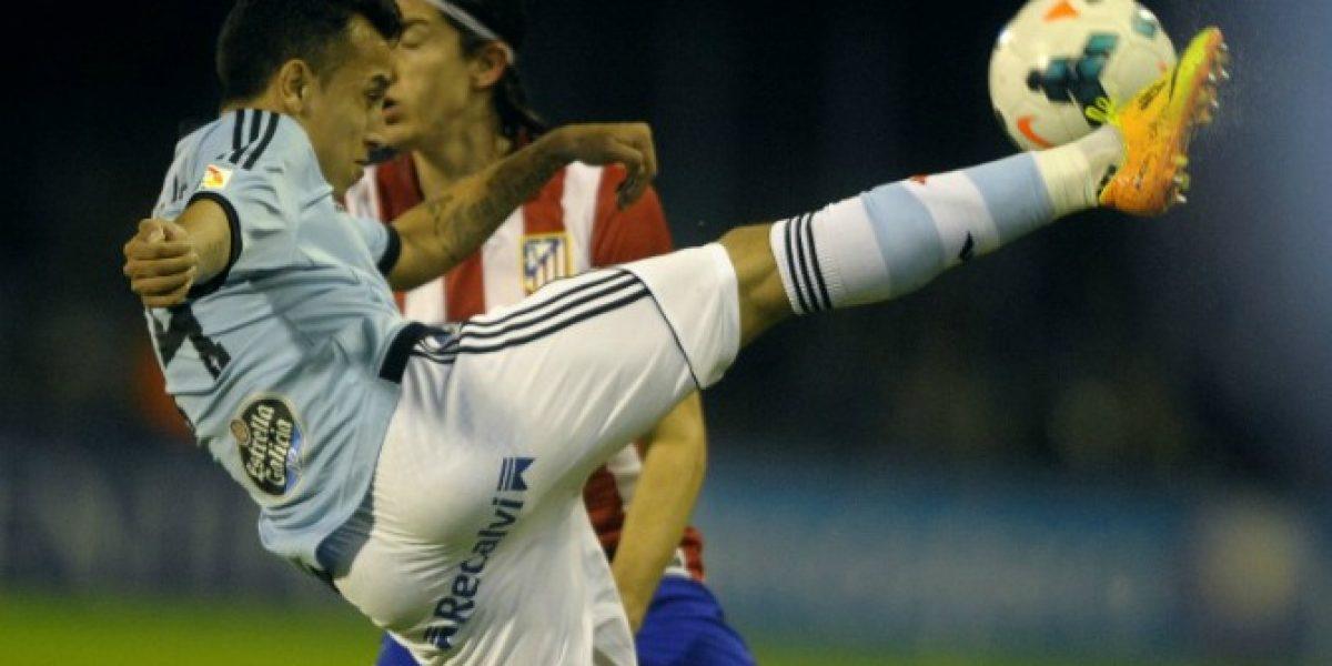 Fabián Orellana anotó en goleada del Celta de Vigo del técnico Eduardo Berizzo