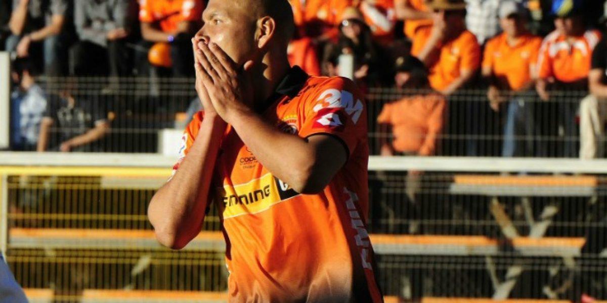 Sebastián Roco y momento de Cobreloa: