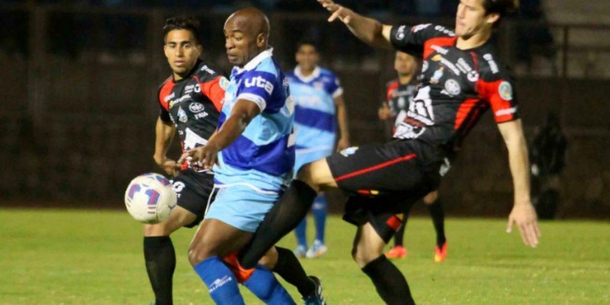 San Marcos derrotó en la agonía a un complicado Deportes Antofagasta