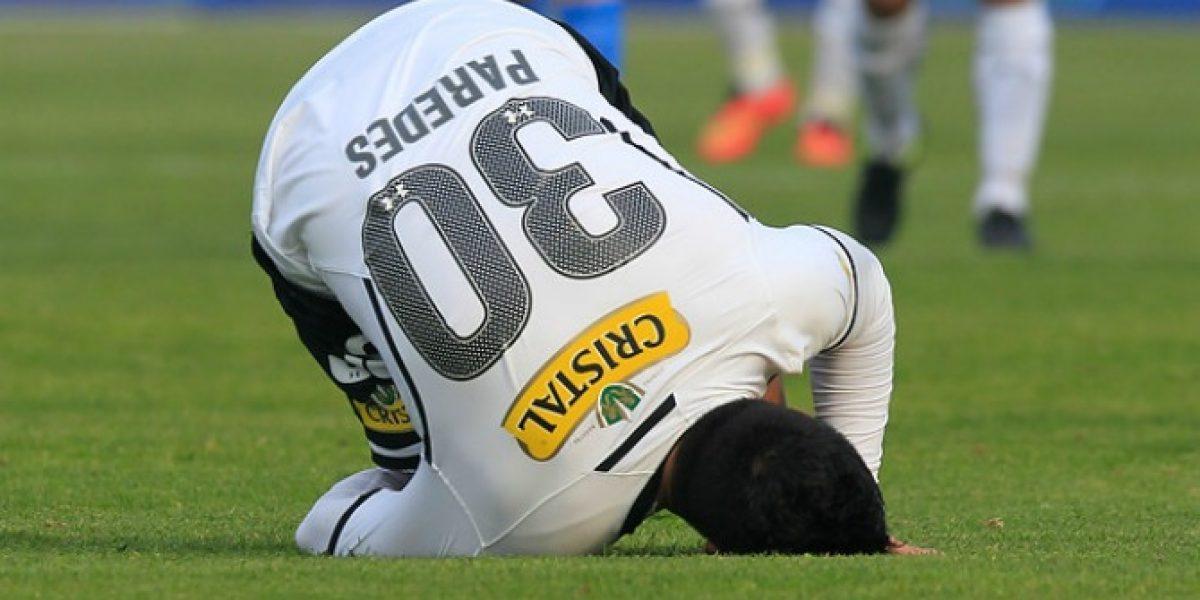 ¿Esteban Paredes volverá a partir de Colo Colo?