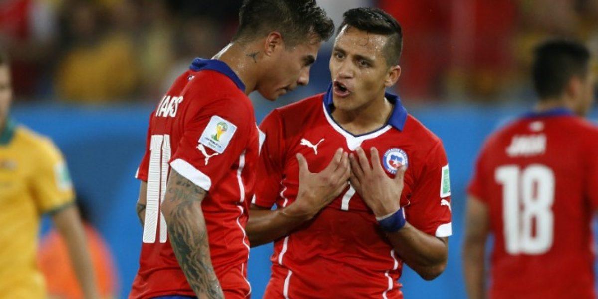 Eduardo Vargas habría anunciado que será compañero de Alexis en Arsenal
