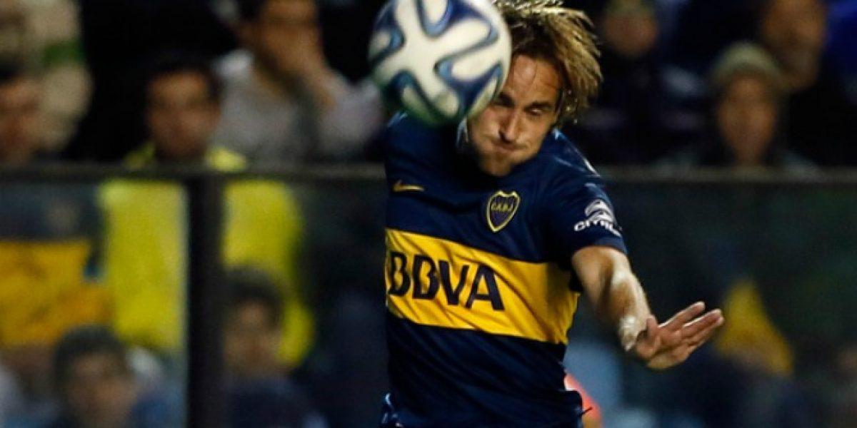 Fuenzalida jugó 10 minutos en agónica victoria de Boca Juniors sobre Belgrano