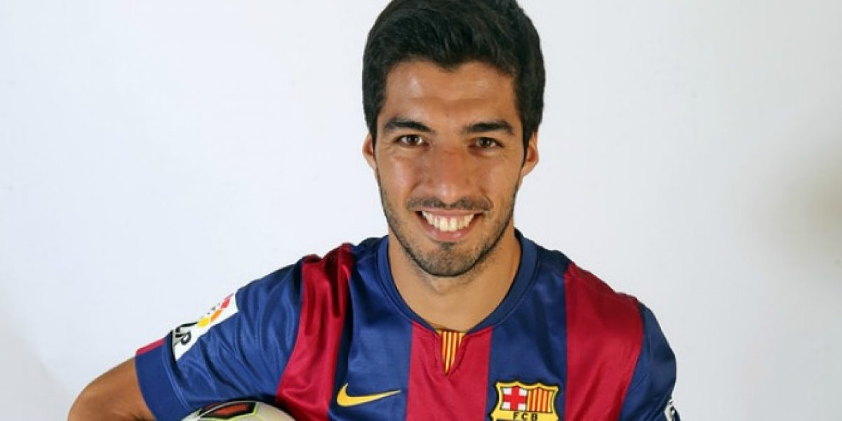 Luis Suárez lucirá por primera vez la camiseta del Barcelona