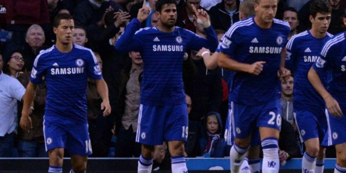 Chelsea partió metiendo ruido en la Premier con Diego Costa como estandarte