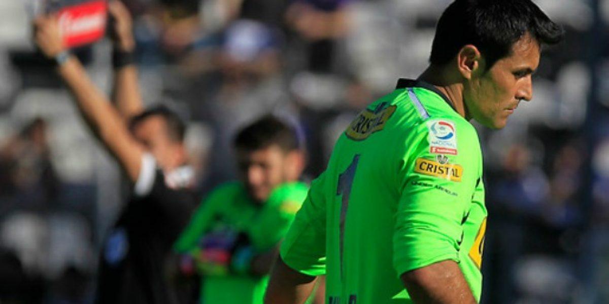 Justo Villar sufrió desgarro y será baja por dos semanas