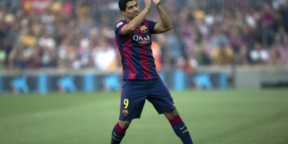 Luis Suárez tras su debut en el Camp Nou: