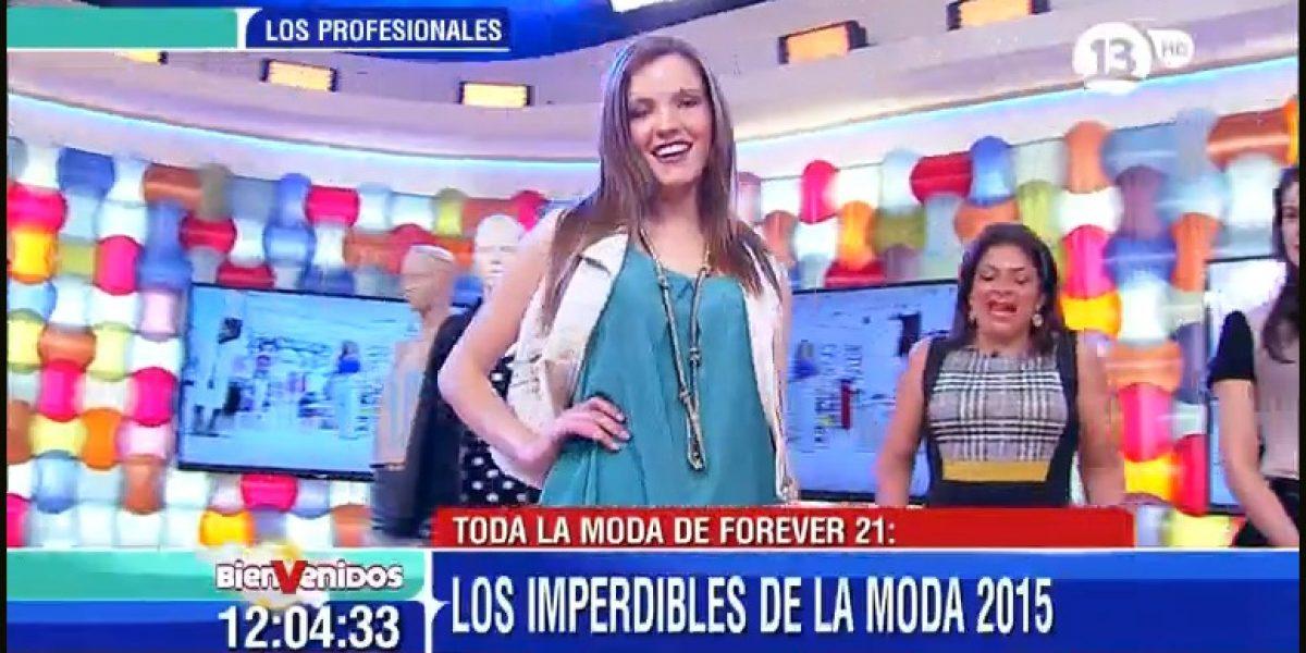 Ex candidata a Miss Chile reaparece como modelo en