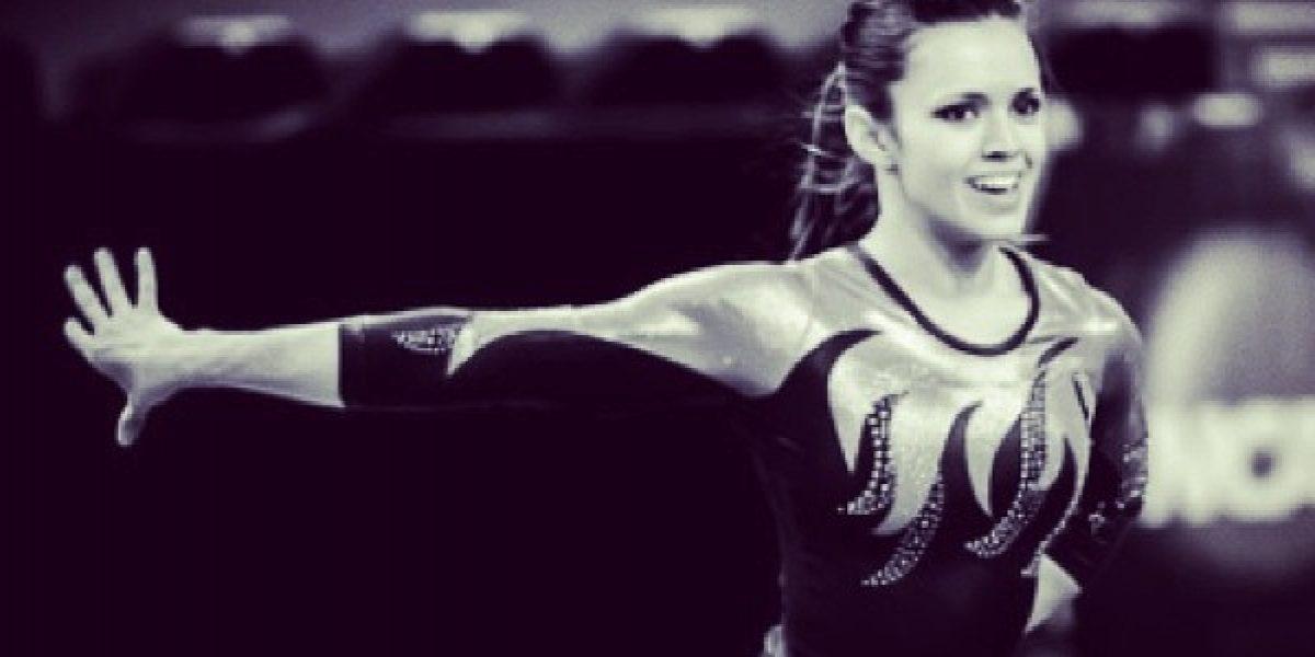 La bella gimnasta que debutará en el