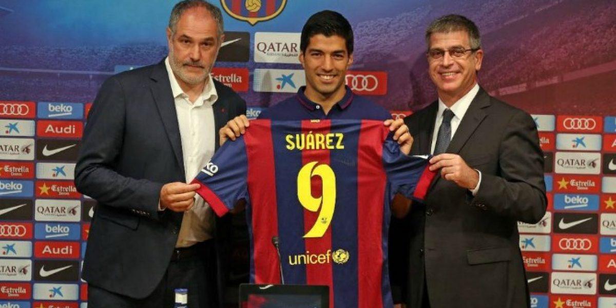 Es oficial: Barcelona presentó a Luis Suárez y reconoció pagar 81 millones de euros por él