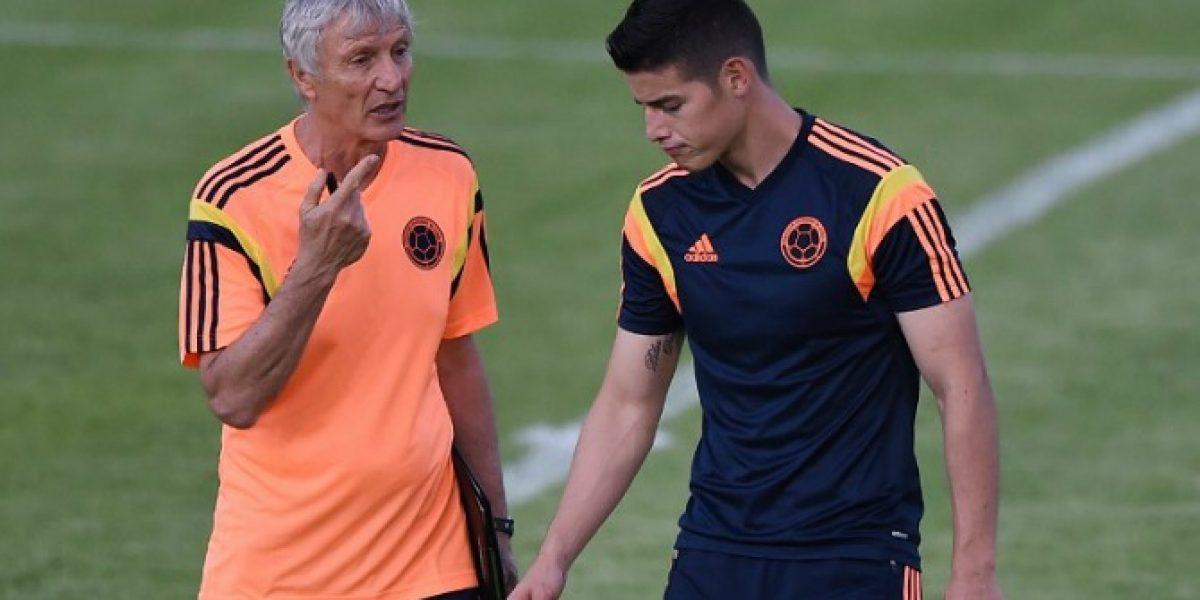 José Pekerman renueva contrato con selección de Colombia